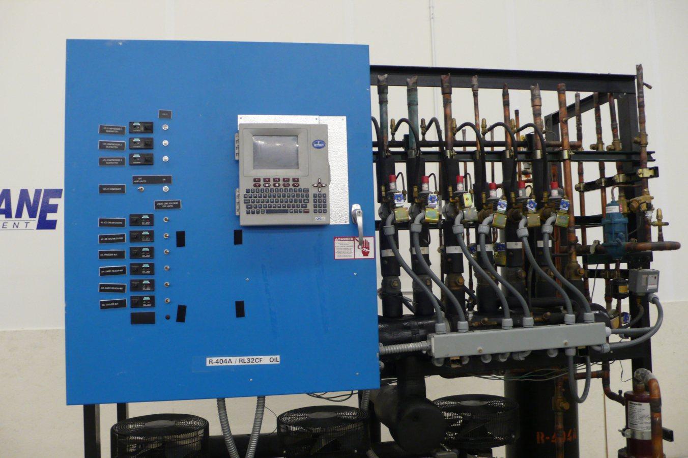 copeland discus wiring diagram rj45 cat6 zero zone 22 5 hp low temp freezer refrigeration rack