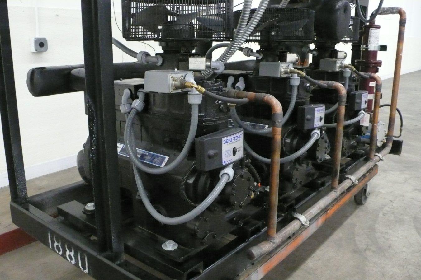 copeland discus wiring diagram ford cortina mk2 zero zone 22 5 hp low temp freezer refrigeration rack