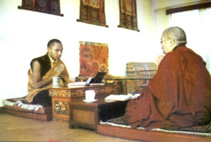 Kyabje Thrangu Rinpoche