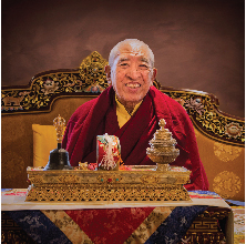 The Very Venerable 9th Khenchen Thrangu Rinpoche