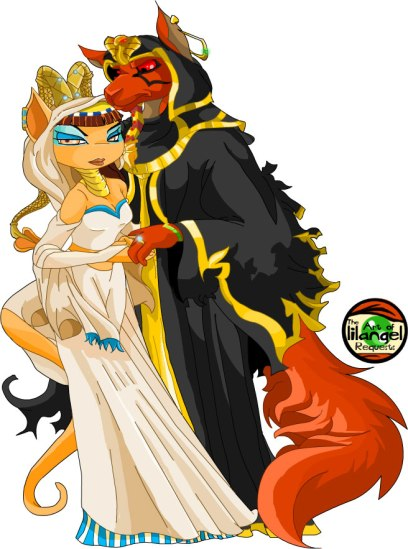 neopets_amira_and_jazan_by_gundunim