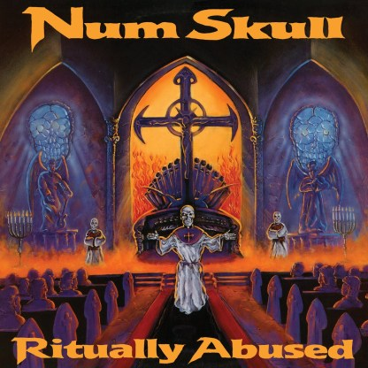 NUM SKULL - Ritually Abused old school thrash bands from 1988 obscure