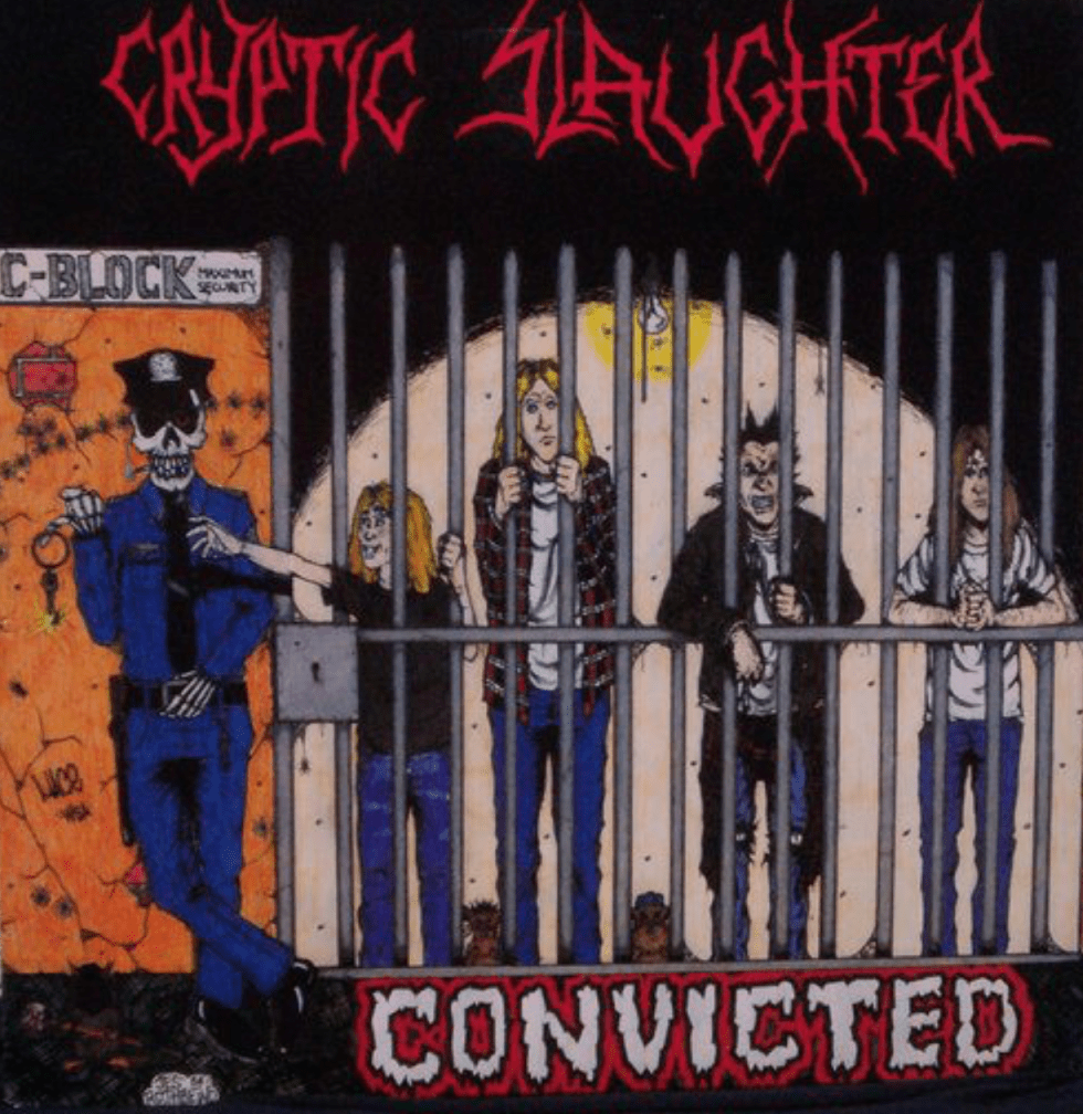 CRYPTIC SLAUGHTER - Convicted LP 1986