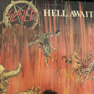 Slayer 2nd full lp cover