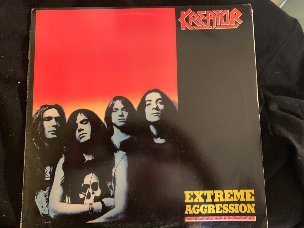 "Kreator ""Extreme Aggression"" 1989 - Epic First Major Label Release"