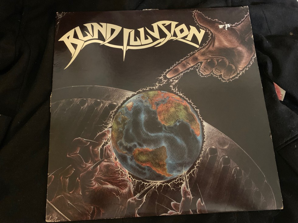 Blind Illusion Band Vinyl LP With Les Claypool and Larry LaLonde of Primus