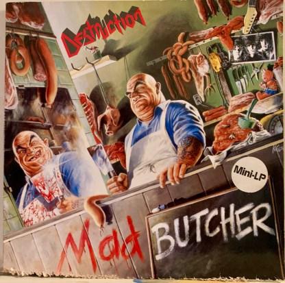DESTRUCTION MAD BUTCHER cover