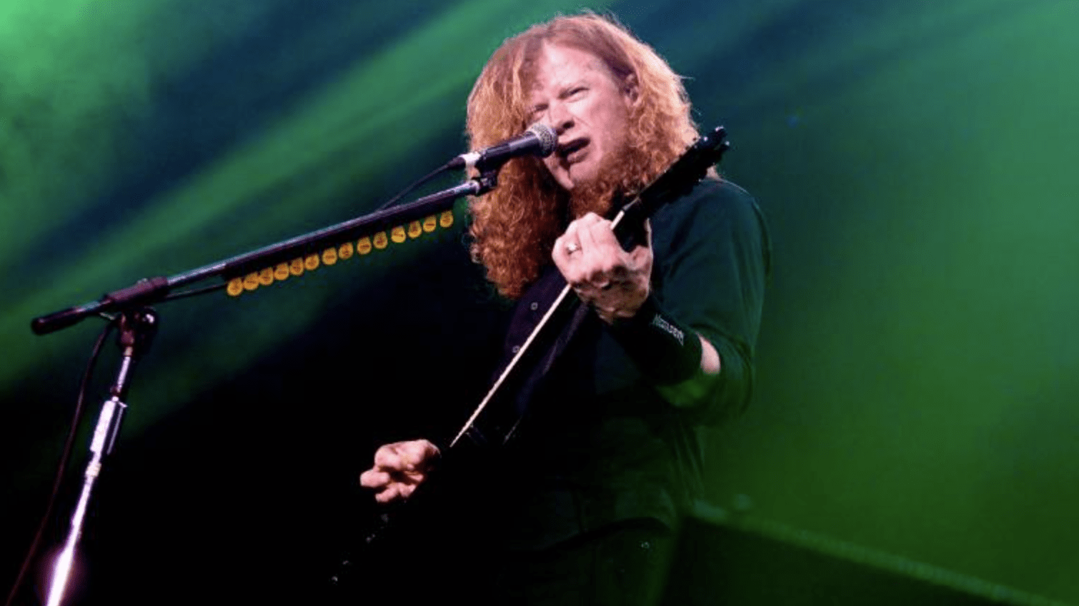 "Dave Mustaine ""Feels Positive"" About Cancer Treatment Progress"