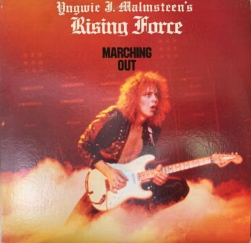 Yngwie J. Malmsteen's Rising Force - Marching Out Polydor 422-825 733-1 Y-1