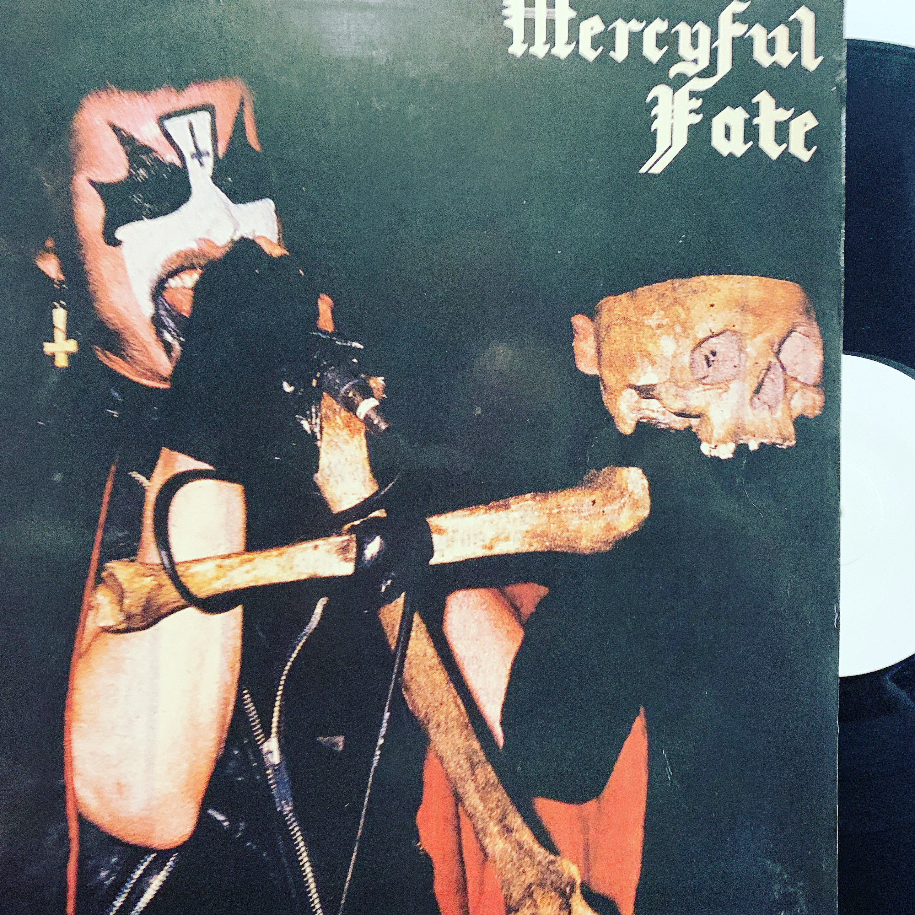 Mercyful Fate ‎– Black Message LP 1985 Evil Records – RARE / UNOFFICIAL