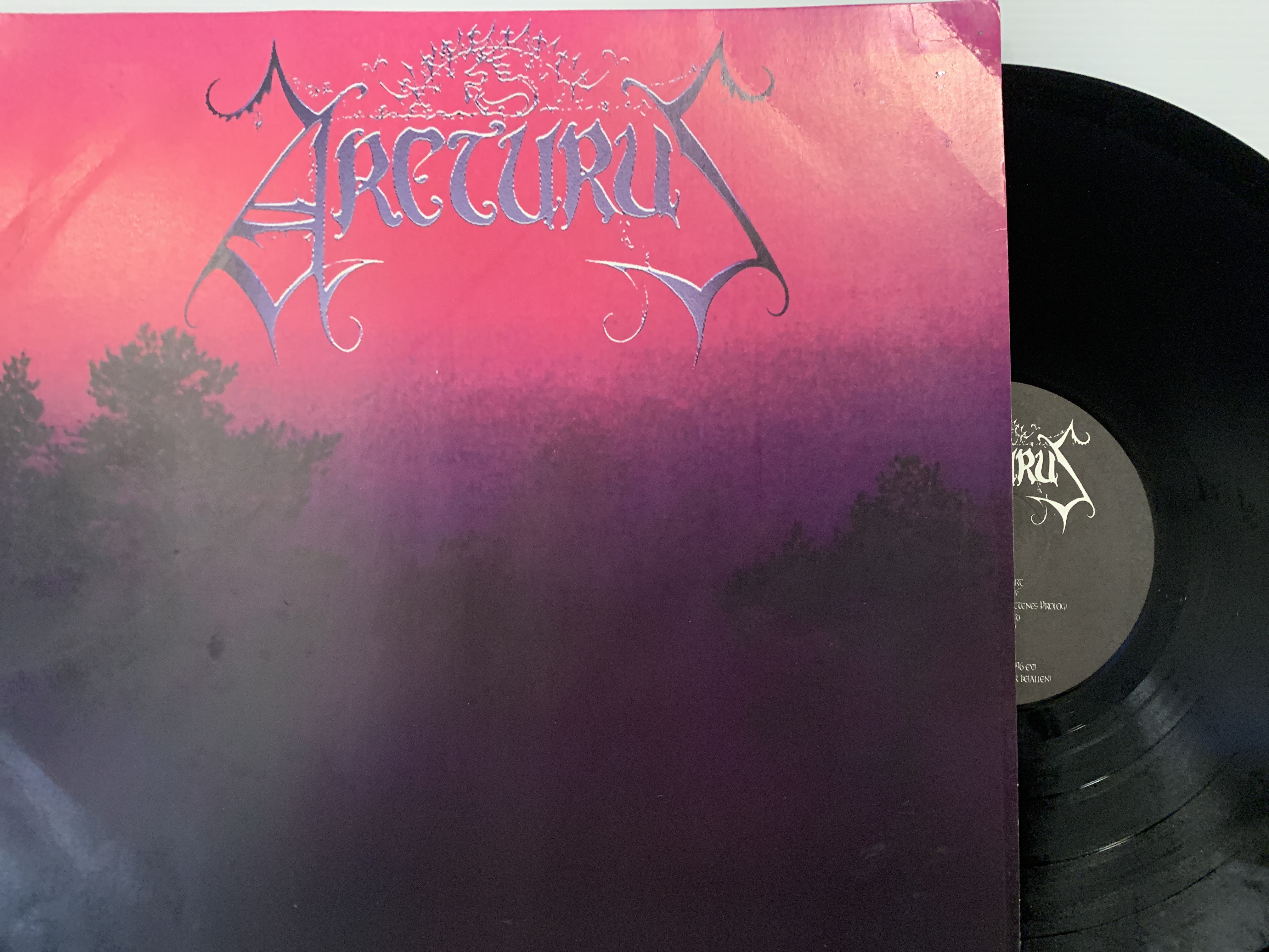 Arcturus ‎– Constellation LP 1997 Nocturnal Art Productions ‎ECLIPSE006 – 1st Press Rare