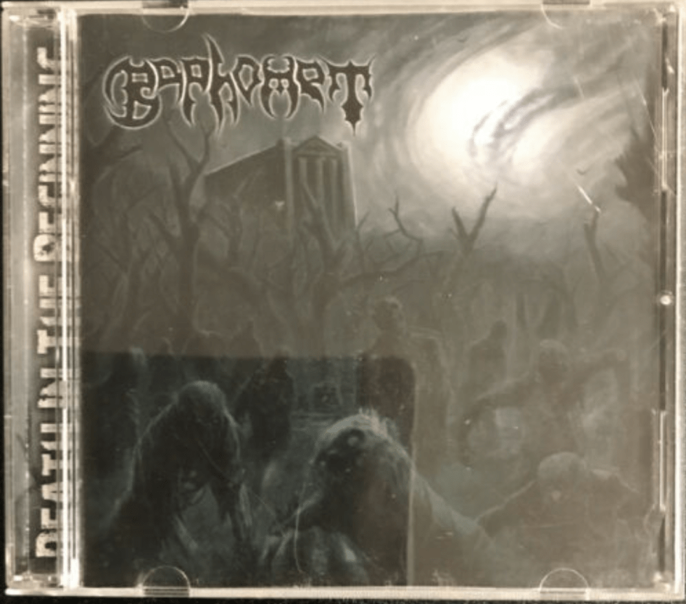 6. Baphomet – Death In The Beginning CD 2012 Sevared Records ‎– SR-216 $74.95