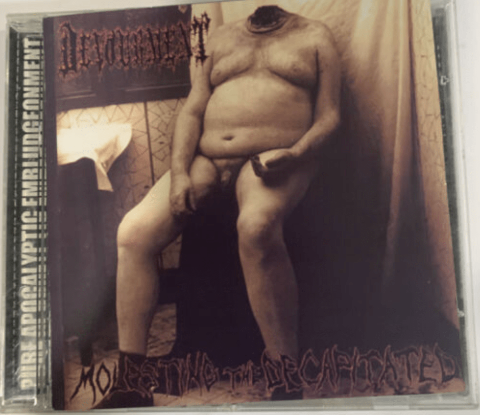 7. Devourment ‎– Molesting The Decapitated CD 1999 United Guttural UGR 005