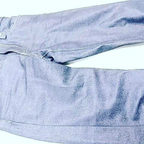 ユニクロジーンズ、slim straight low fabric by kaihara をテーパード加工。写真7枚#洋服のリフォーム #スレッド名古屋 #名古屋 #栄 #ファッション #テーパード #uniqlojeans from Instagram