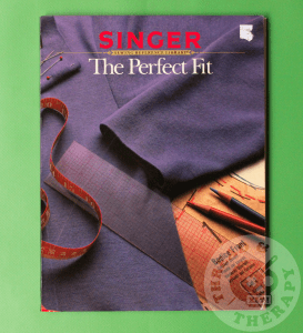 Singer's The Perfect Fit book against a green backdrop.
