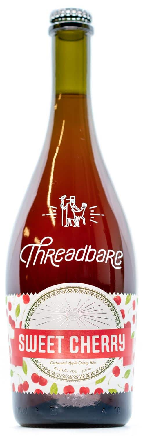 Threadbare Sweet Cherry Cider Bottle