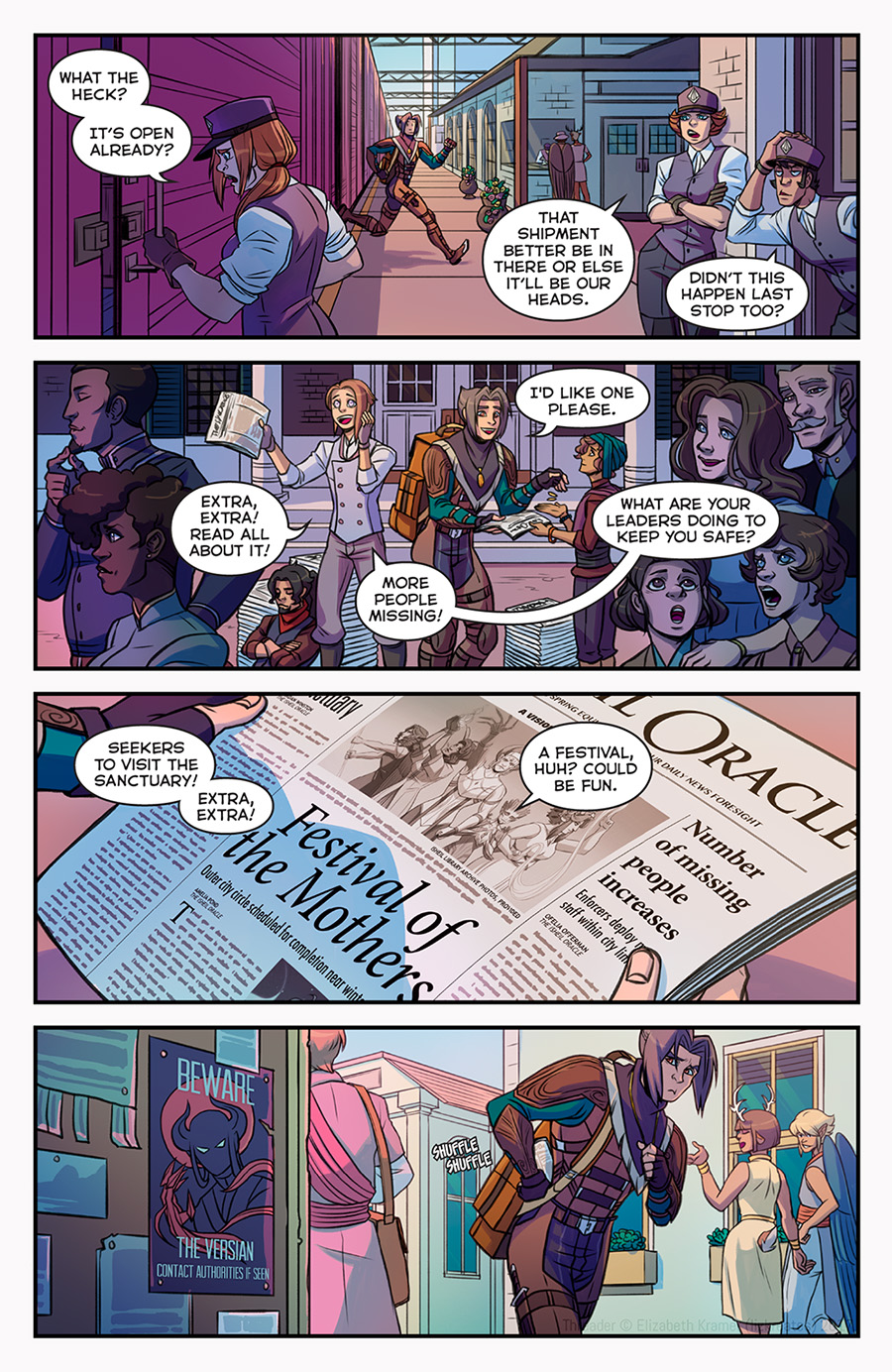 Chapter 1: The Veil   Page 6