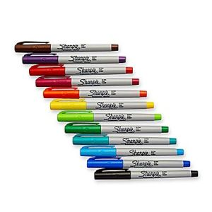 Colorful wet erase markers