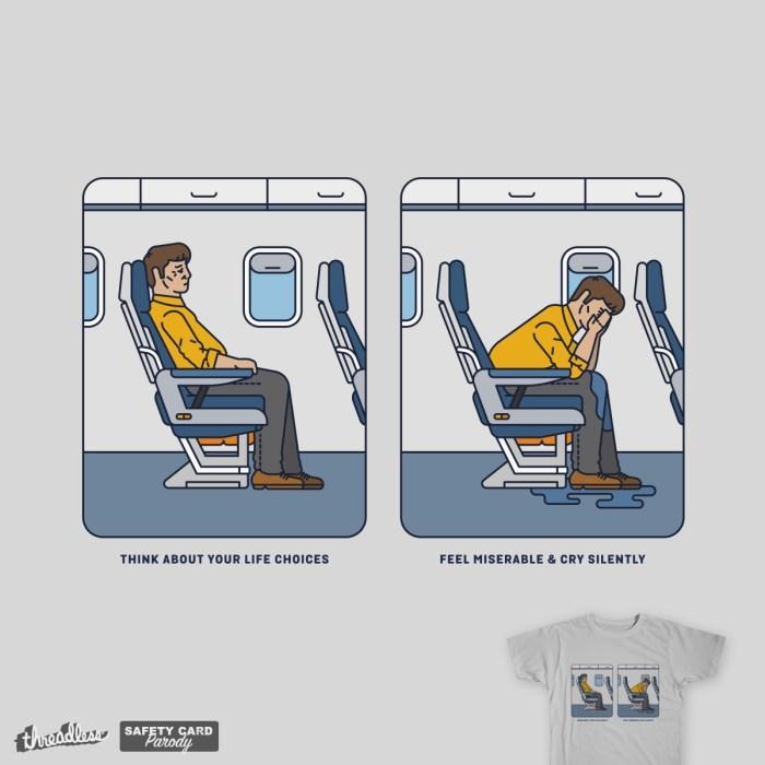 Life Choices, a cool t-shirt design
