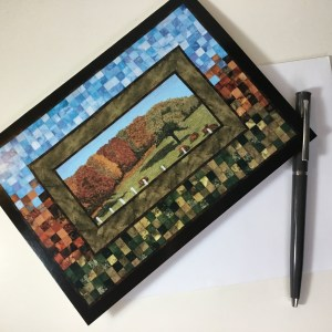ArtCard Autumn Farm by Bridget O'Flaherty