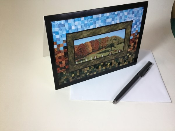 ArtCard Autumn Farm 2 by Bridget O'Flaherty