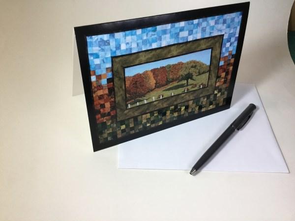 ArtCard Autumn Farm 2 by Bridget O'Flaherty