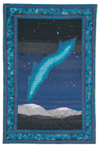Yukon -Night Sky by Bridget O'Flaherty