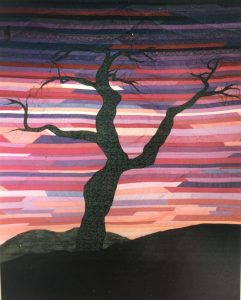 First Landscape Quilt by Bridget O'Flaherty