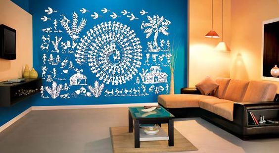 wall decorations for living room india painting your white inspiring indian art modern day homes threads