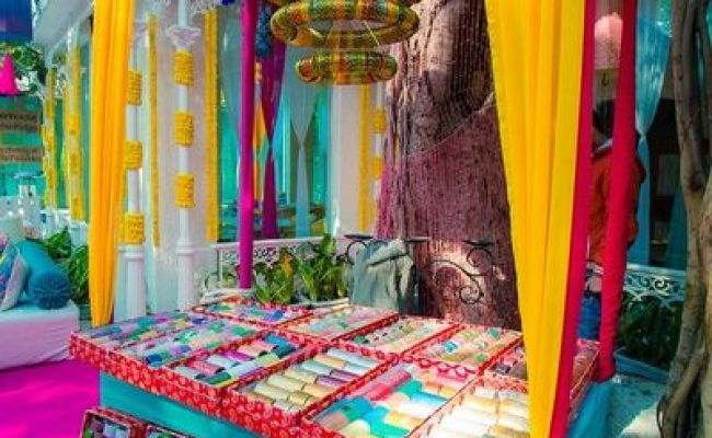 Decor Ideas For Mehndi Ceremony Fashion In India Threads