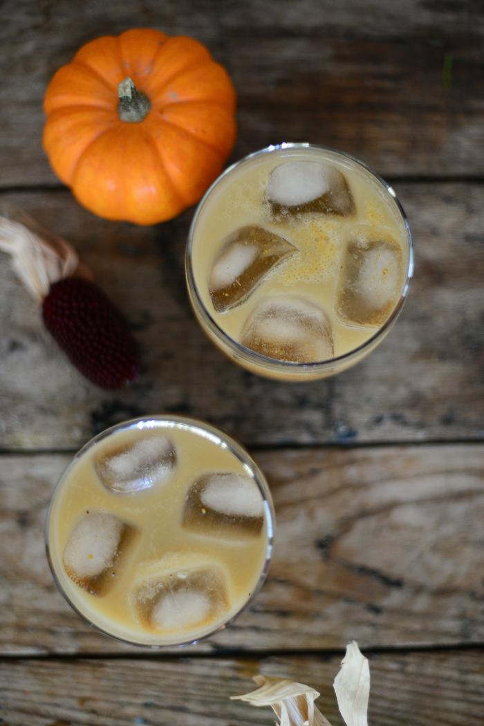 Great Thanksgiving Drinks - Pumpkin Spice Latte Cocktail Recipe
