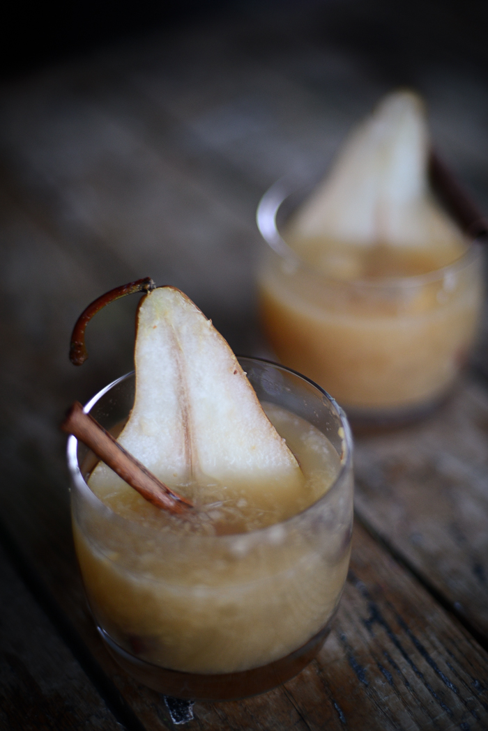 Mulled Cider Recipe with Pears