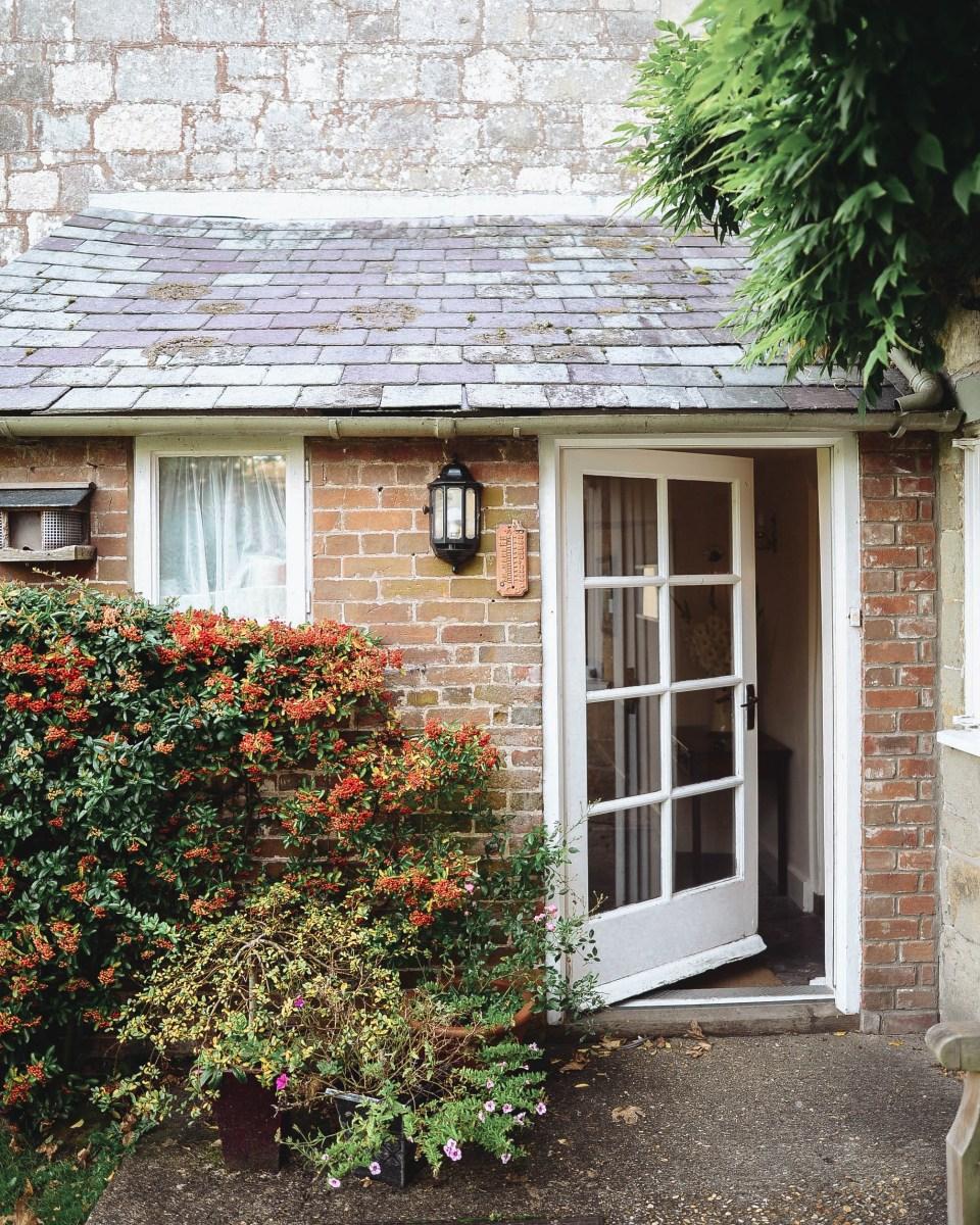 English Countryside farmhouse