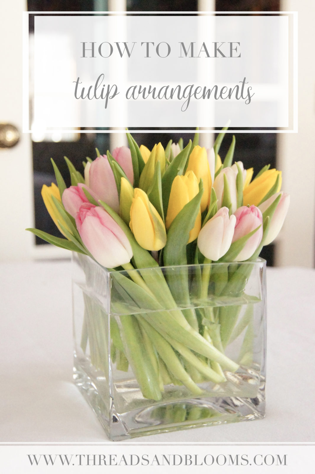 Tulip Arrangement Tutorial