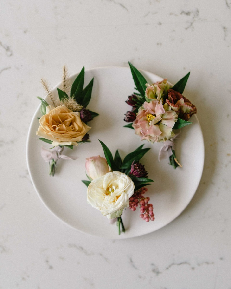 Boutonnieres All Different