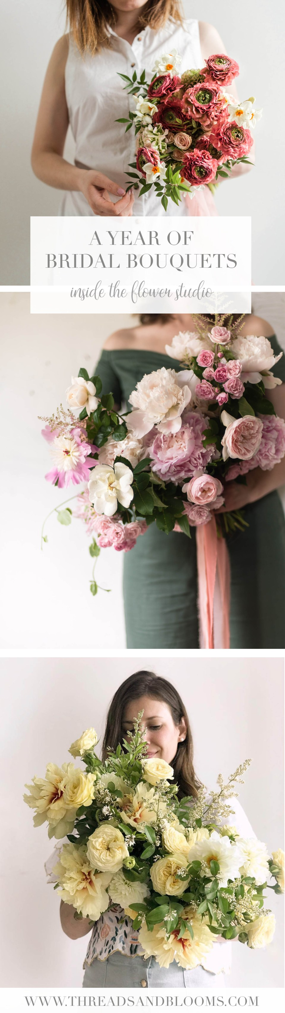 Bridal Bouquets for All Seasons