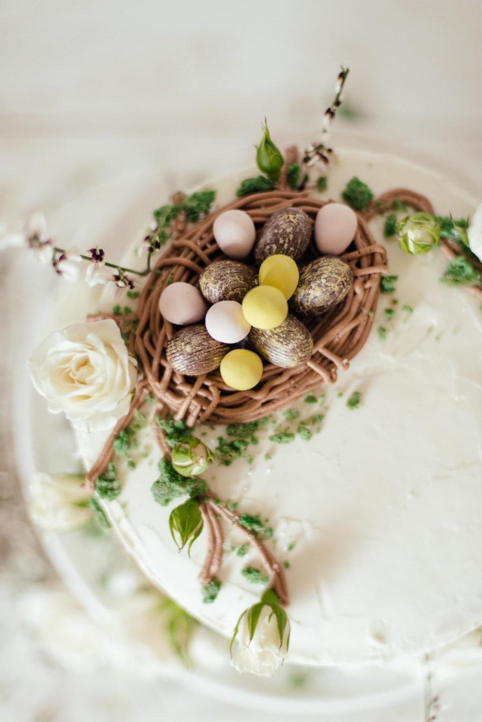 Easter Cake - Nest Cake - Spring Cake