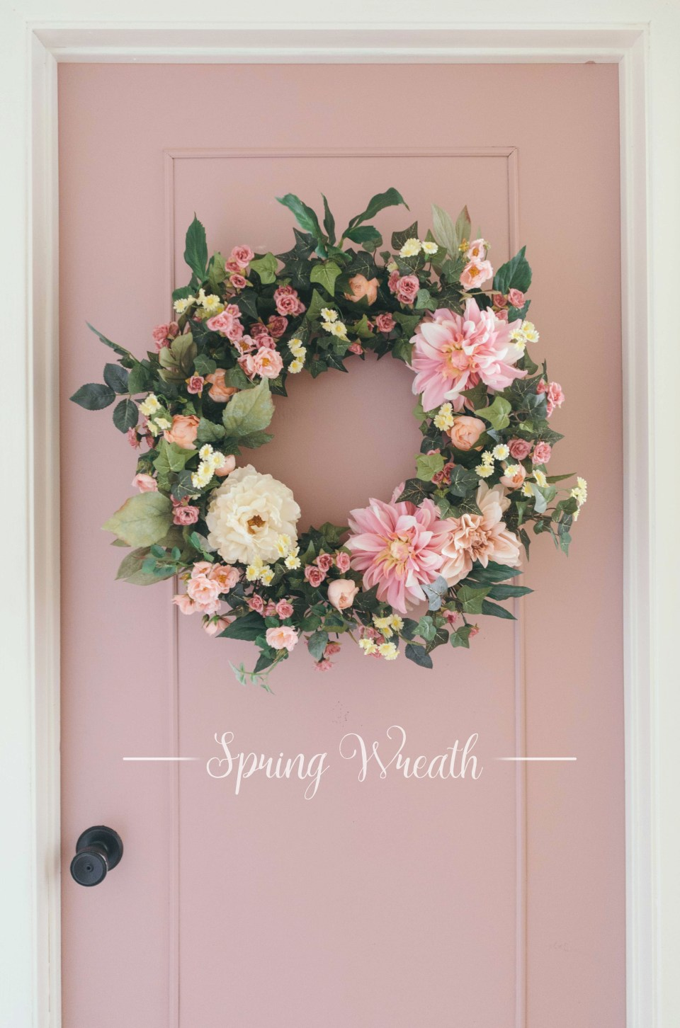 Spring Wreath - Artificial Wreath