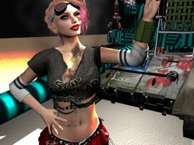 Tank Girl ~  Hair Fair 2013 Photo Contest