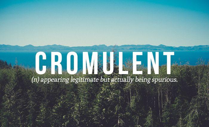 Cromulent