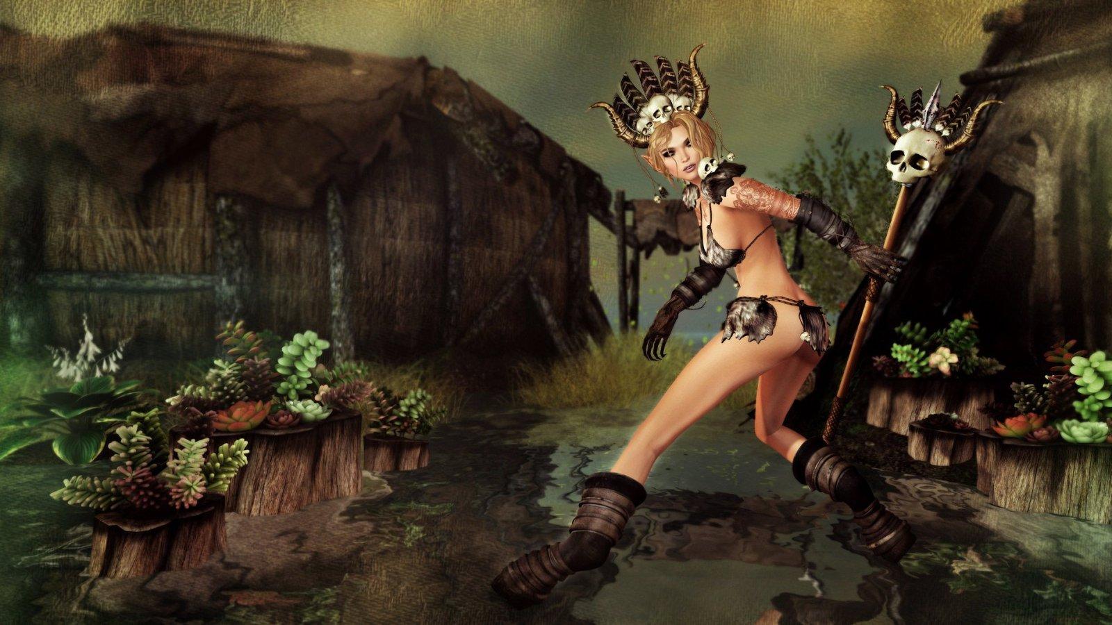 Satyr's Huntress