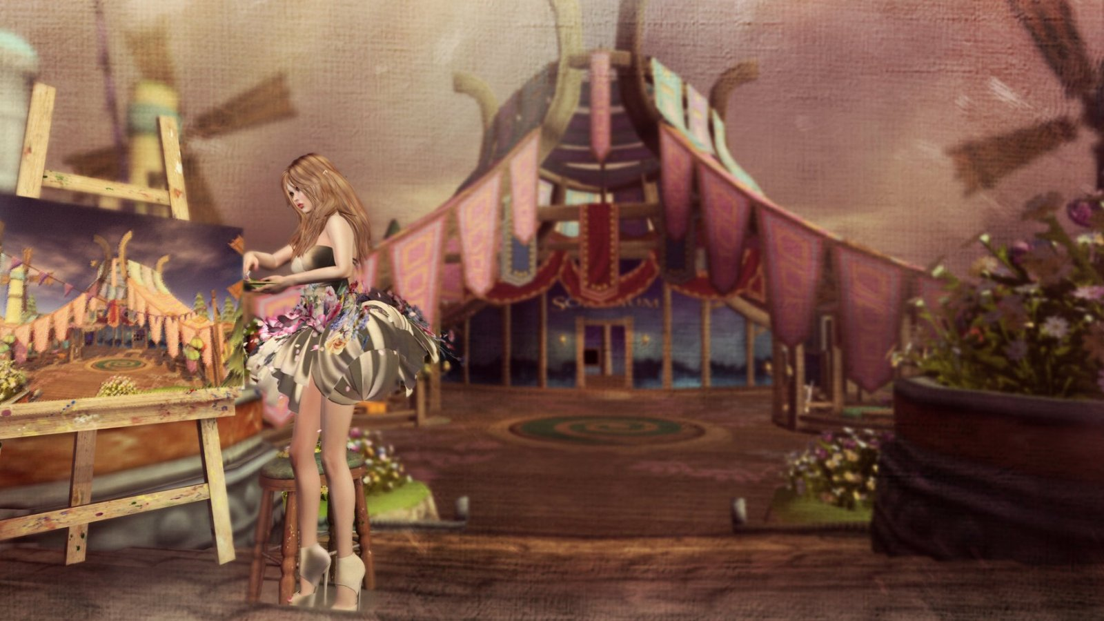 Painting Fantasy Faire