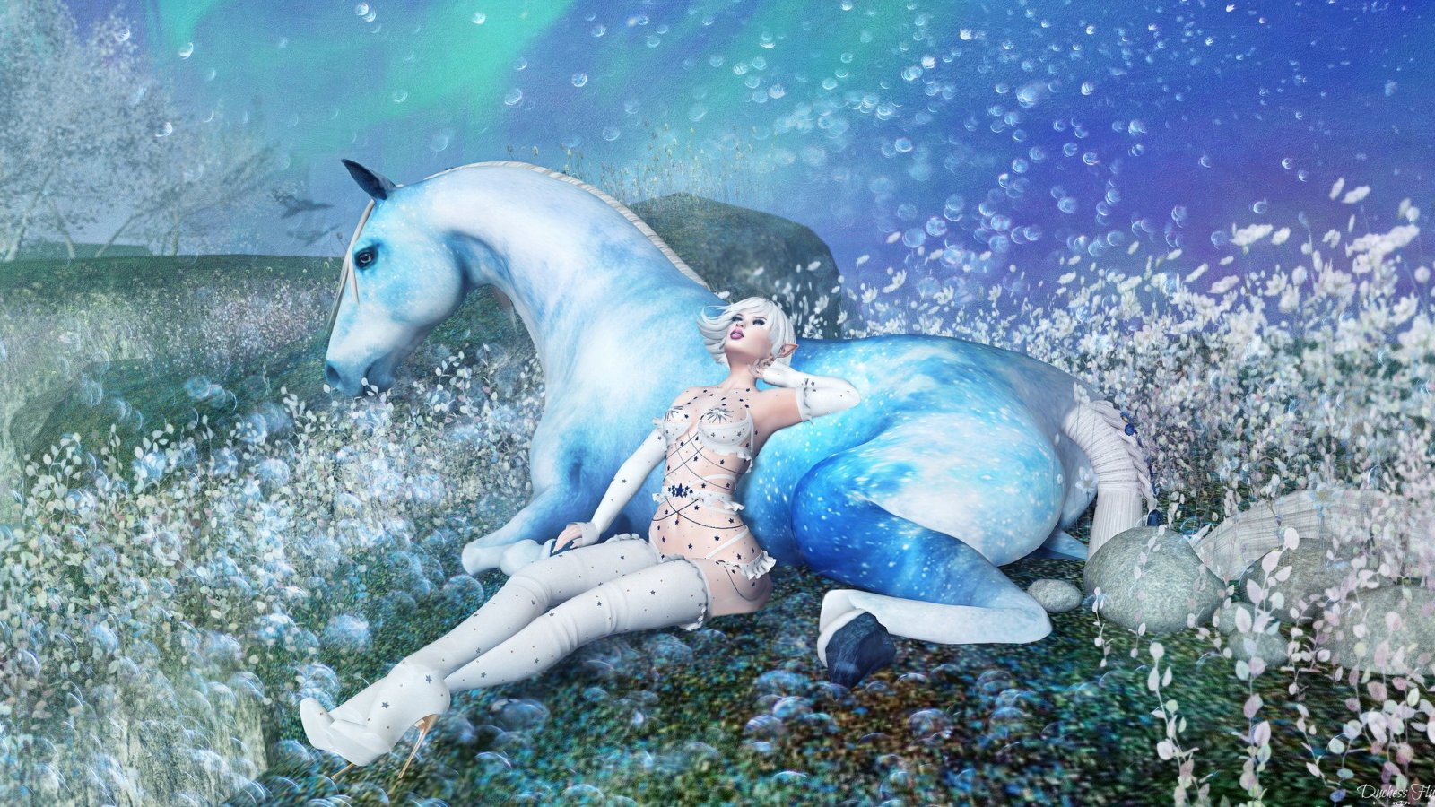 Starry Night and the Celestial Queen