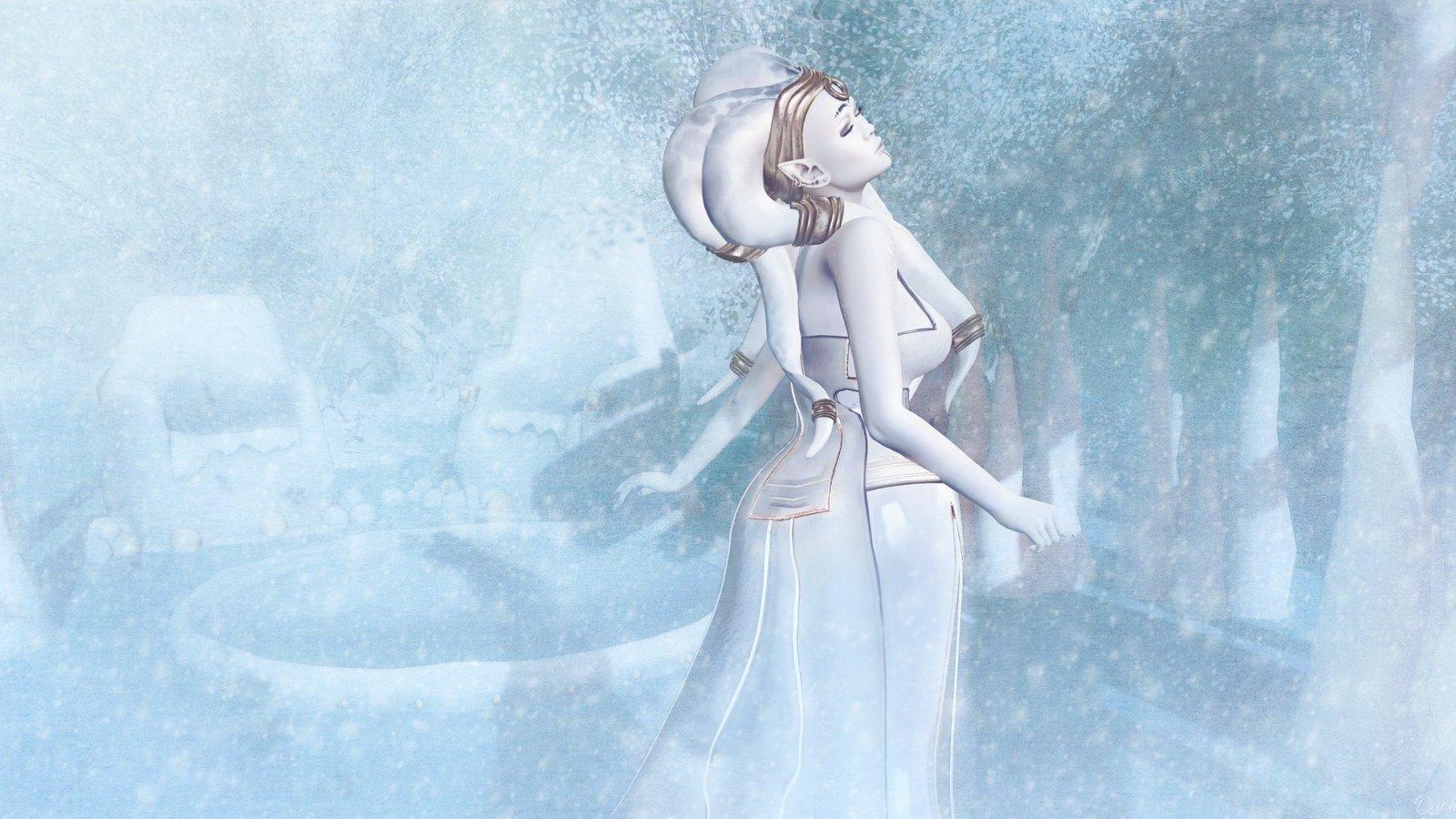Winter Twi'lek