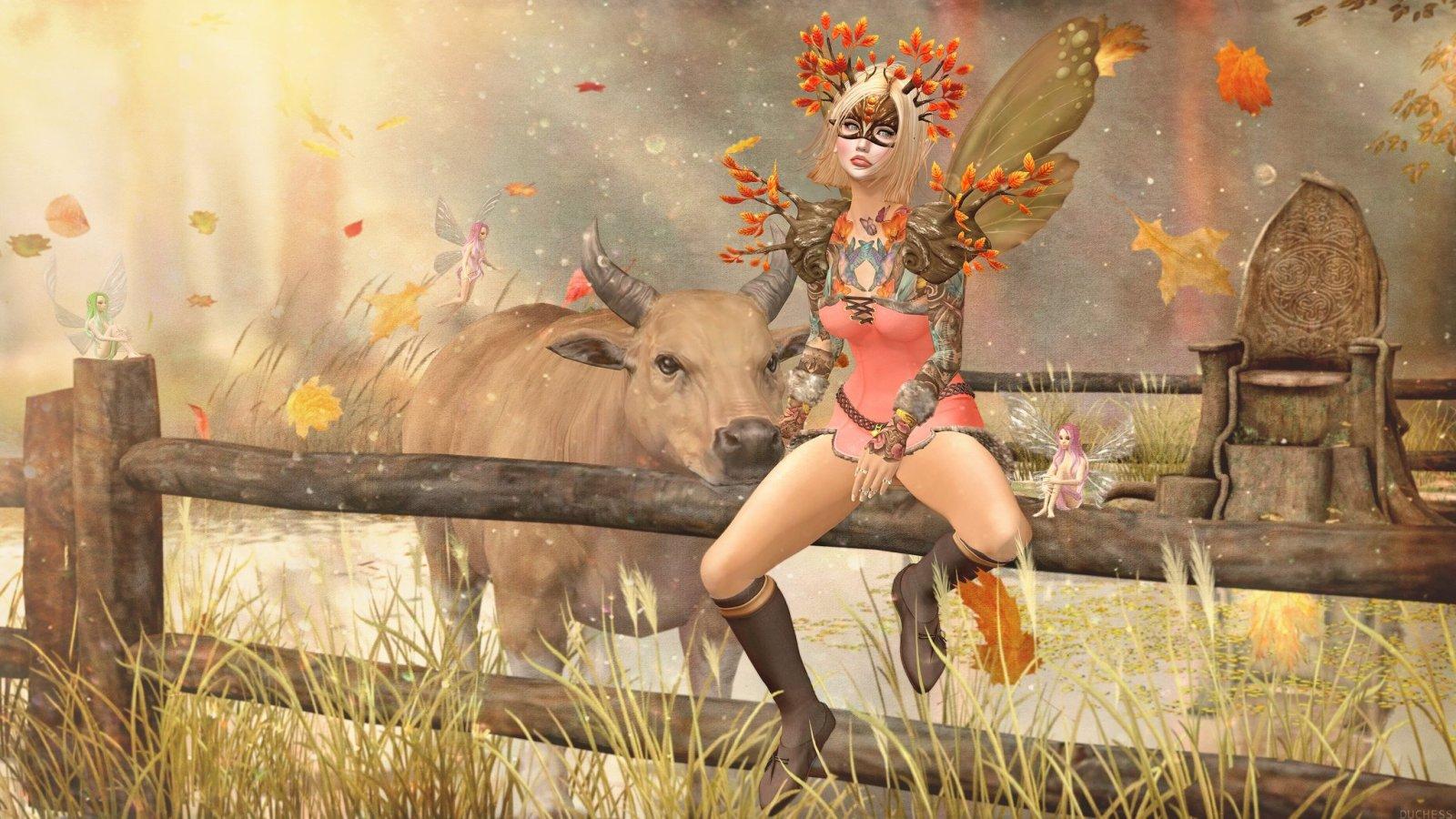 Autumn Faerie Maidens