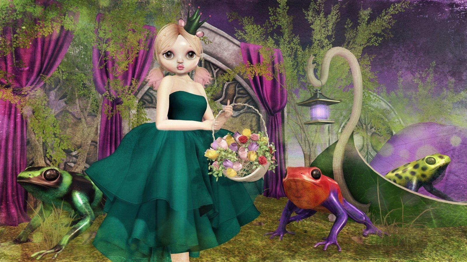 Kissy Frog Princess