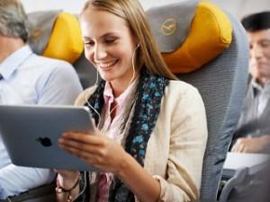 iPad-on-a-flight