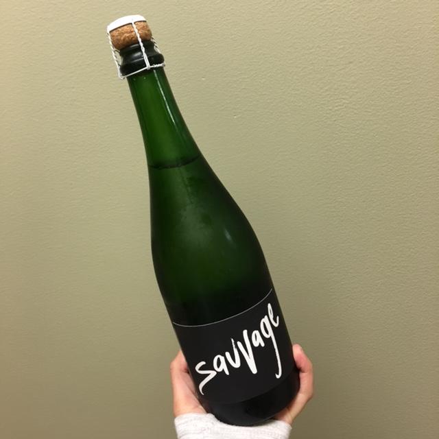 savage wine bottle of gruet winery