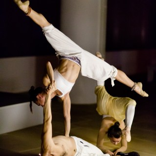 Hybrid Movement Company performs at IAC headquarters. Photo by Andrew T. Foster.