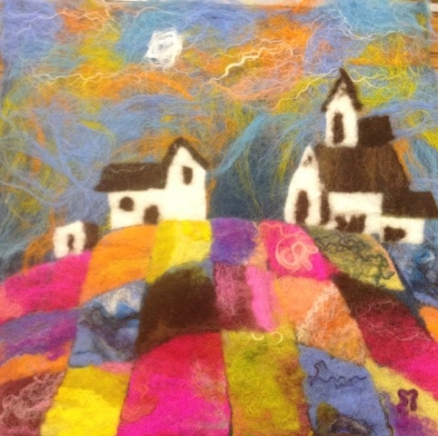 Exmoor landscapes in Felt